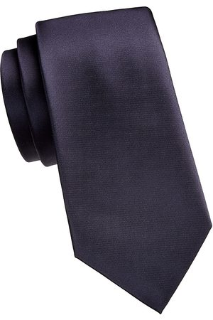 Emporio Armani Men's Solid Silk Tie