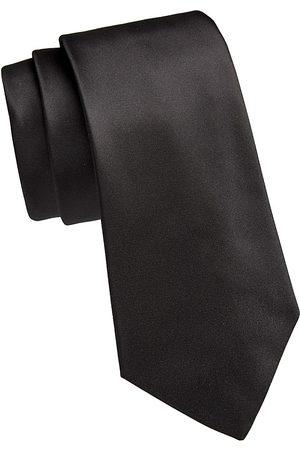 Emporio Armani Men Neckties - Men's Solid Silk Tie