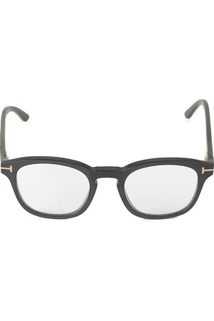 Tom Ford Men's 49MM Square Blue Block Optical Glasses