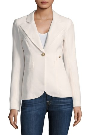 SMYTHE Women's Duchess Wool Blazer - - Size 10