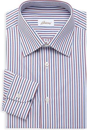 BRIONI Men's Striped Dress Shit - - Size 39 (15.5)