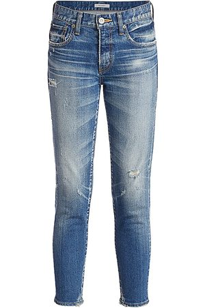 Moussy Women's Velma Cropped Skinny Jeans - - Size 30 (8)