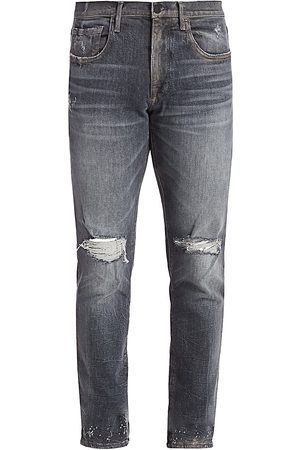 Joes Jeans Men's Asher Distressed Slim-Fit Jeans - - Size 36