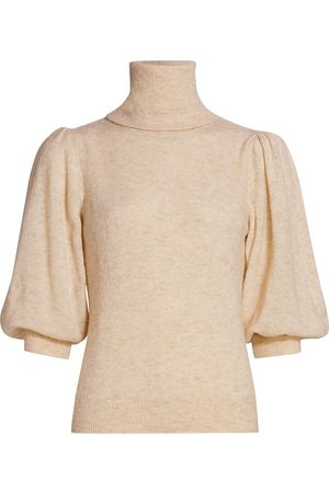 by Ti Mo Women's Teddy Puff-Sleeve Sweater - - Size Small