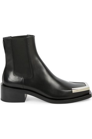 Givenchy Men's Austin Metal Square Toe Leather Chelsea Boots - - Size 42 (9)