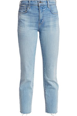 L'Agence Women High Waisted - Women's Sada High-Rise Crop Slim Jeans - - Size 29 (6-8)