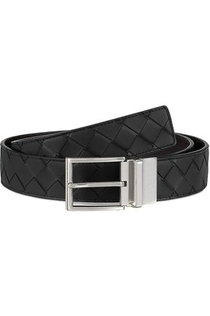 Bottega Veneta Men's Reversible Interlock Leather Belt - - Size 110 (44)