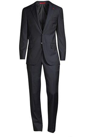 ISAIA Men's New Sanita Basic Wool Suit - - Size 60 (50) R