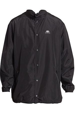 Balenciaga Men's Solid Color Rain Coat - - Size 50 (40)