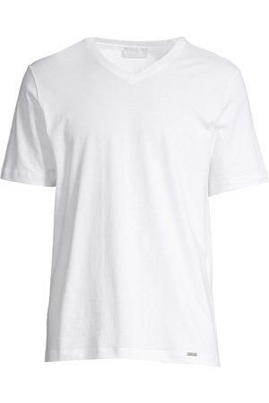 Hanro Men's Living V-Neck Tee - - Size XL