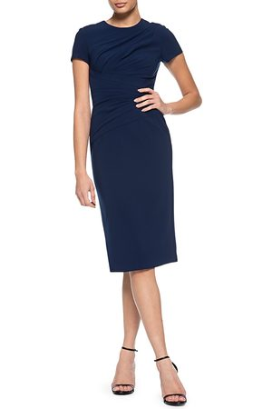 THEIA Women's Fitted Crepe Cocktail Dress - - Size 8