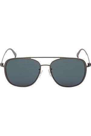 Bally Men's 58MM Metal Square Sunglasses