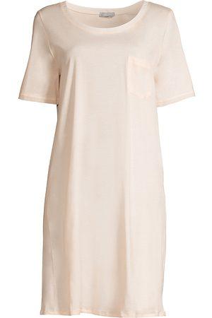 Hanro Women's Cotton Deluxe Sleepshirt - - Size XL