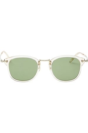 Oliver Peoples Men's 49MM Square Sunglasses