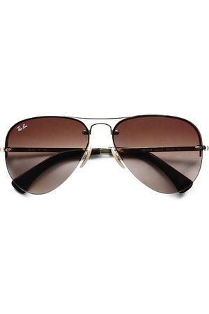 Ray-Ban Men's RB3449 59MM Semi-Rimless Aviator Sunglasses