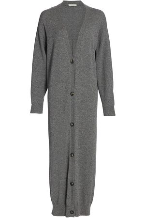 The Row Women's Armando Cashmere Button-Front Long Cardigan - - Size XL
