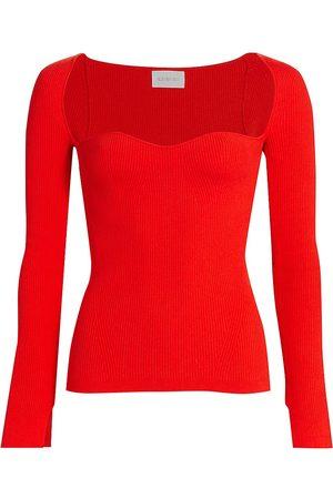 ELEVEN SIX Women's Mara Bustier Sweater - - Size Small