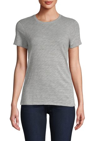ATM Anthony Thomas Melillo Women's Cotton Schoolboy Crewneck Tee - - Size Large