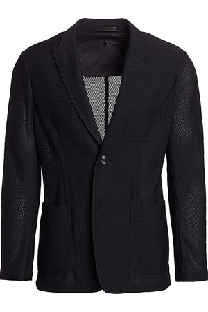 Armani Men's Textured Wool Sport Jacket - - Size 50 R