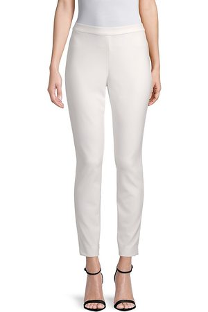 Lafayette 148 New York Women's Acclaimed Stretch Murray Cropped Pant - - Size XL