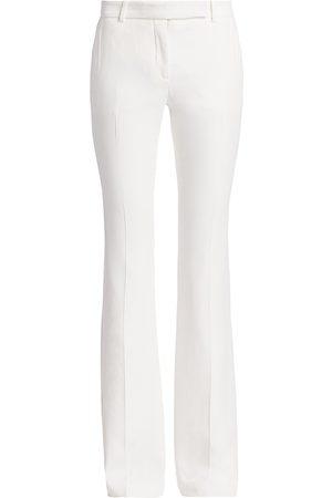 Alexander McQueen Women's Bootcut Trousers - - Size 36 (0)