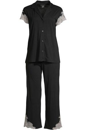 Natori Women's 2-PieceLux Shangrila Pajama Set - - Size XL