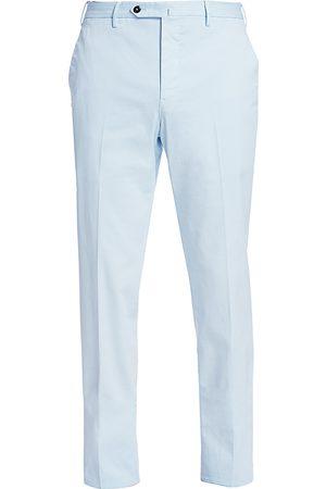 PT01 Men's Slim-Fit Flat Front Pants - - Size 54 (44)