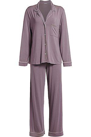 Eberjey Women's Gisele Long Pajama Set - - Size Large