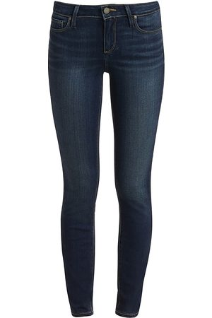 Paige Women's Verdugo Transcend Mid-Rise Ankle Skinny Jeans - - Size 29 (6-8)