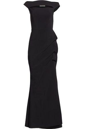 CHIARA BONI Women's Melania Off-The-Shoulder Gown - - Size 54 (18)