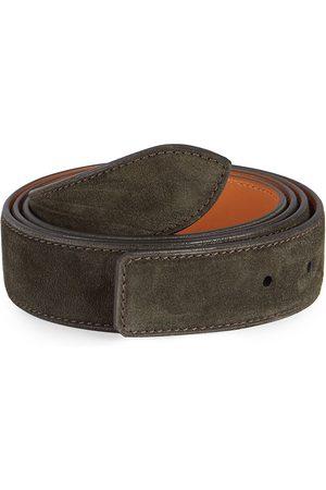 CORTHAY Men's Leather Strap - - Size Large (110 cm)