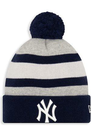 New Era Men's EK New York Giants Striped Knit Beanie