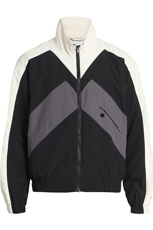 Kenzo Men's Logo Sport Colorblock Track Jacket - - Size XL