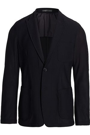 Armani Men's Textured Wool Sport Jacket - - Size 58 (48) R