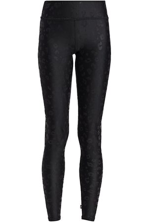 Terez Women's Cheetah Foil-Print Leggings - - Size Large