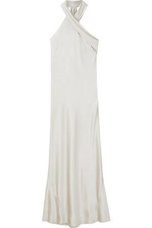 GALVAN Women's Pandora Asymmetrical Bias Cut Dress - - Size 36 (4)