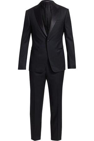 Z Zegna Men Pants - One-Button Wool Tuxedo
