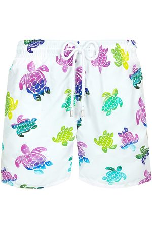 Vilebrequin Men's Ronde Des Tortues Aquarelle Swim Trunks - - Size XXL