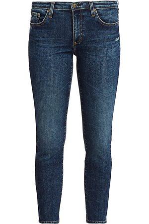 AG Jeans Women's Prima Mid-Rise Crop Cigarette Jeans - - Size 30 (8-10)