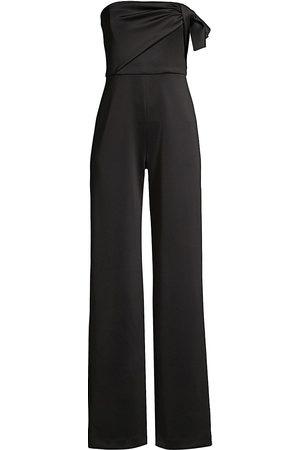 Black Halo Women's Divina Strapless Jumpsuit - - Size 6