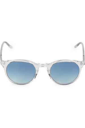 Barton Perreira Men's Princeton 49MM Round Sunglasses