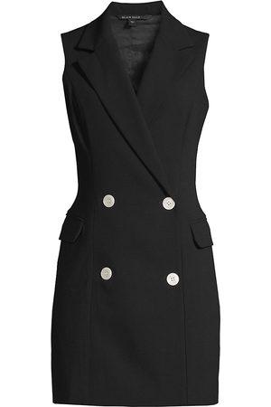 Black Halo Women Sleeveless Dresses - Women's Rio Sleeveless Blazer Dress - - Size 10