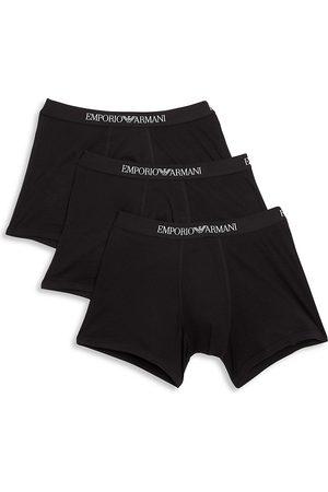 Emporio Armani Men's 3-Pack Cotton Boxer Briefs - - Size XL