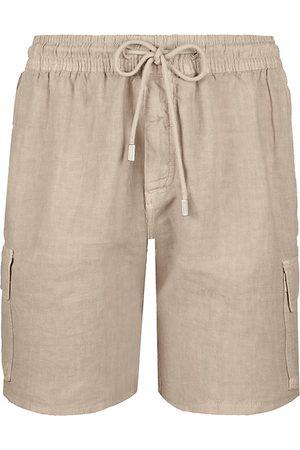 Vilebrequin Men's Linen Cargo Shorts - - Size XXXL