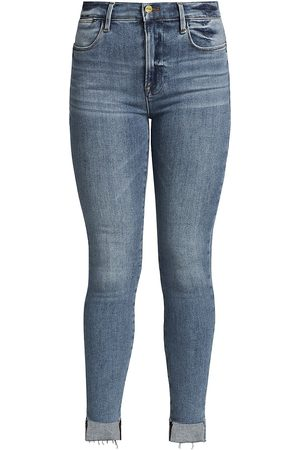 Frame Women's Le High Skinny Raw Hem Jeans - - Size 31 (10)