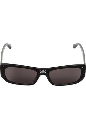 Balenciaga Men's 99MM Rectangular Sunglasses