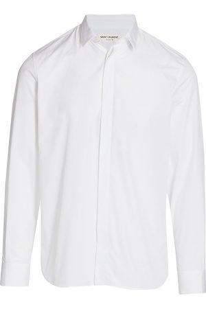 Saint Laurent Men's Lightweight Sport Shirt - - Size 41 (16)