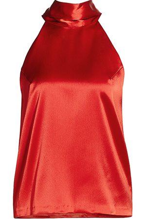 GALVAN Women's Sienna Tie-Back Halter Top - - Size 36 (4)