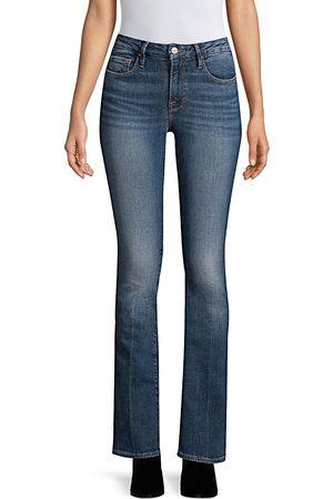 Frame Women's Le Mini Mid-Rise Bootcut Jeans - - Size 31 (10)