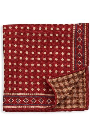 Brunello Cucinelli Men's Wool Pocket Square
